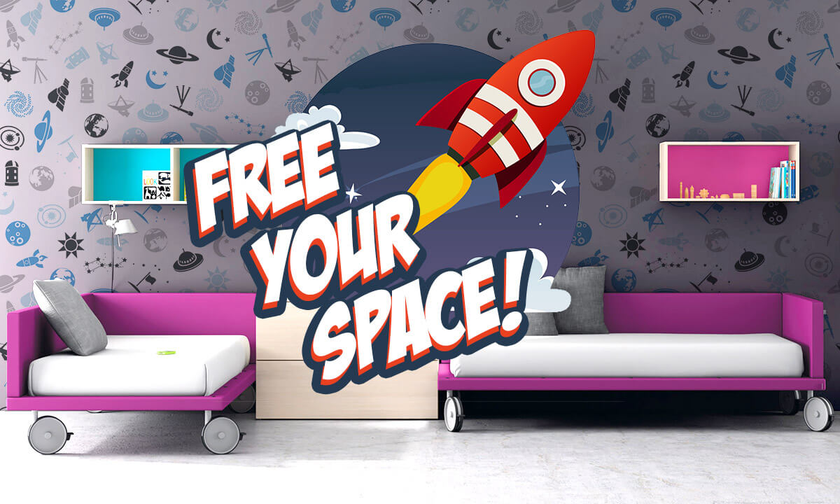 Free Your Space - Wall Murals