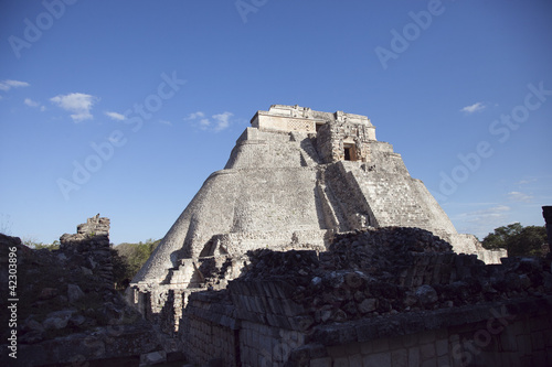 Wall Mural - mayan ruins at uxmal, mexico