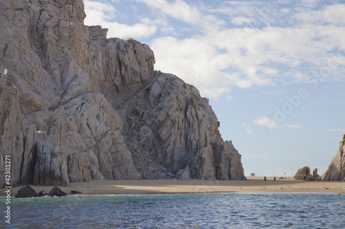 Wall Mural - los arcos and los cabos in baja califonia sur, mexico, shot from