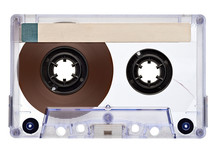 Wall Mural - music audio tape vintage