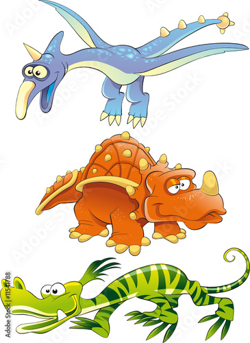 Wall Mural - Monsters Dinosaurs
